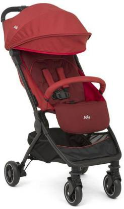 Joie Pact Stroller with Rain Cover and Travel Bag (Cranberry)