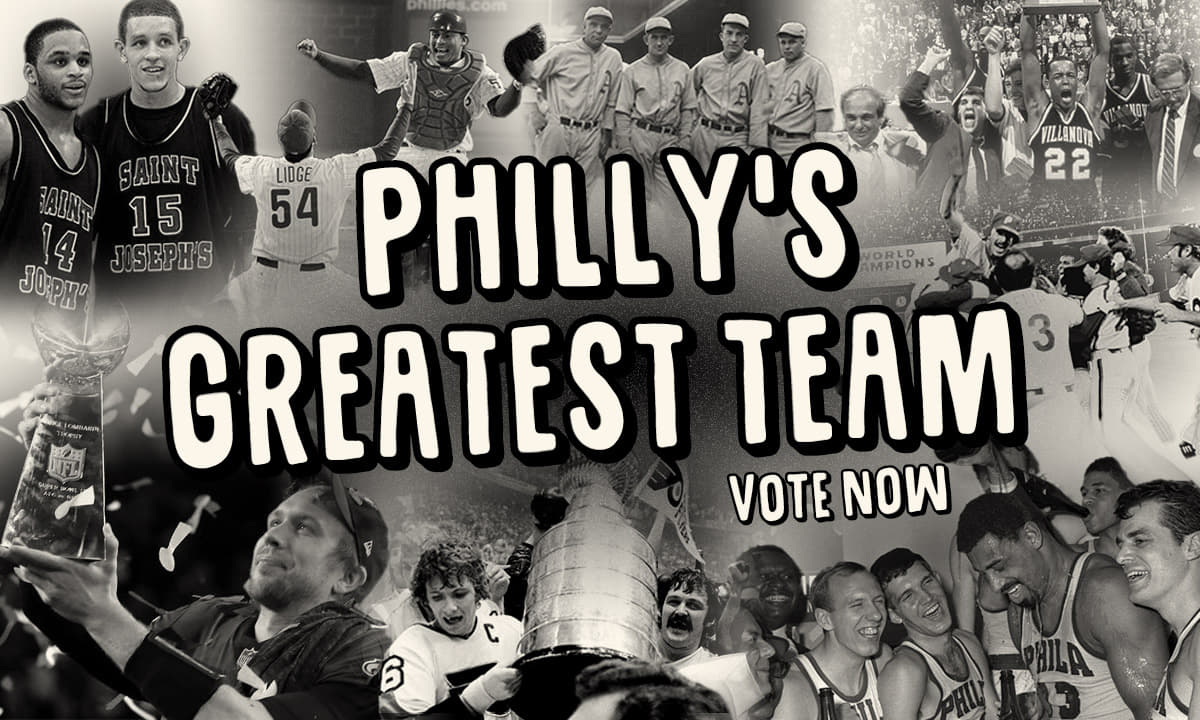 Philly's greatest team - vote now