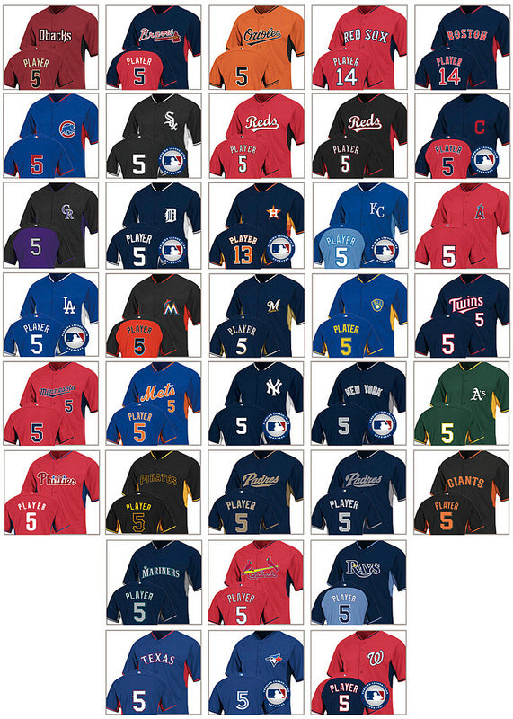 2014 Mlb Batting Practice Jersey Designs Released Shibe