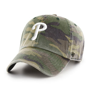 Philadelphia Phillies Camo Clean Up hat