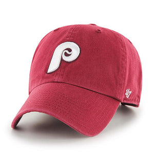 "Philadelphia Phillies ""Clean Up"" Adjustable Maroon cap"