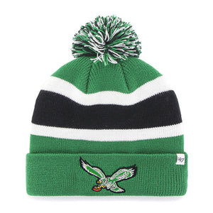 Philadelphia Eagles Vintage Kelly Green Breakaway Knit Hat