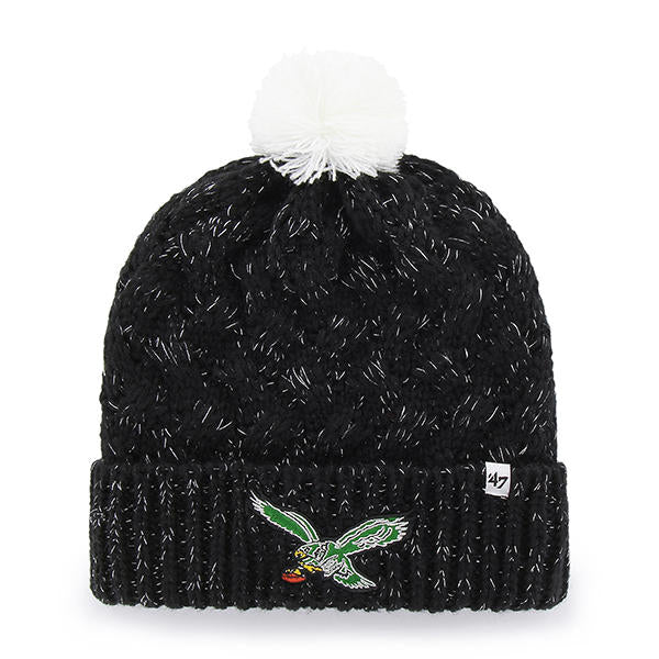 Philadelphia Eagles Black Fiona Cuff Kids Knit Hat