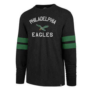Philadelphia Eagles Club Scramble Long Sleeve T-shirt