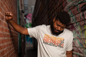 Philadelphia Faded Sunset tee