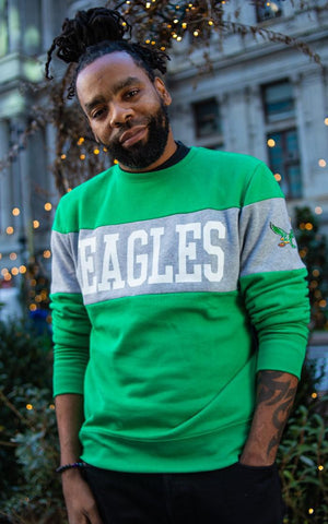Philadelphia Eagles Interstate Crew Sweatshirt