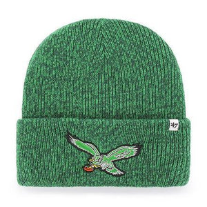 Philadelphia Eagles Brain Freeze Kelly Knit hat