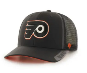 Philadelphia Flyers Clean Cut MVP DP Black Snapback