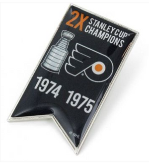 Flyers Championship Banner Pin