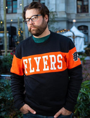 Philadelphia Flyers Interstate Crew Sweatshirt