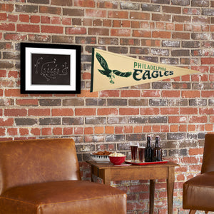 Philadelphia Eagles Throwback Pennant