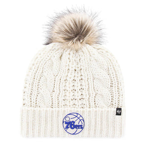 Philadelphia 76ers '47 Brand Women's Meeko Knit Hat with Pom