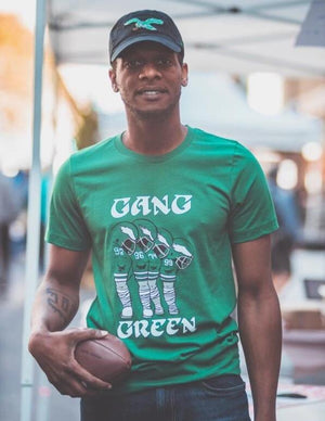 Philadelphia Eagles Gang Green T-shirt