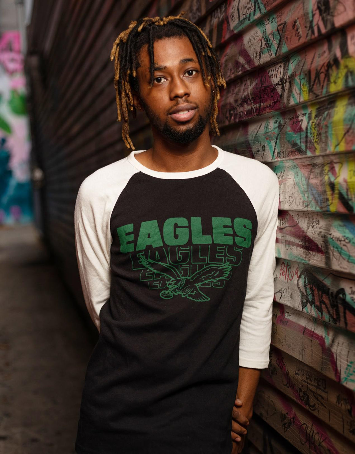 Philadelphia Eagles All American Raglan