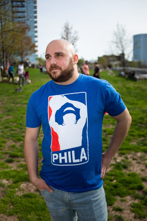 Philly Basketball Logo tee