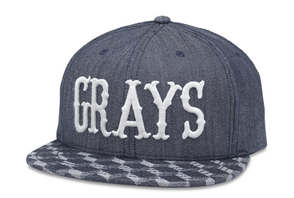 Homestead Grays Cubix Snapback Hat