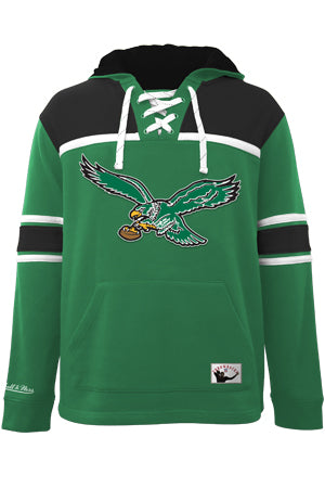 Philadelphia Eagles Hockey Hood Fleece