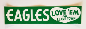 Eagles Vintage Bumper Sticker