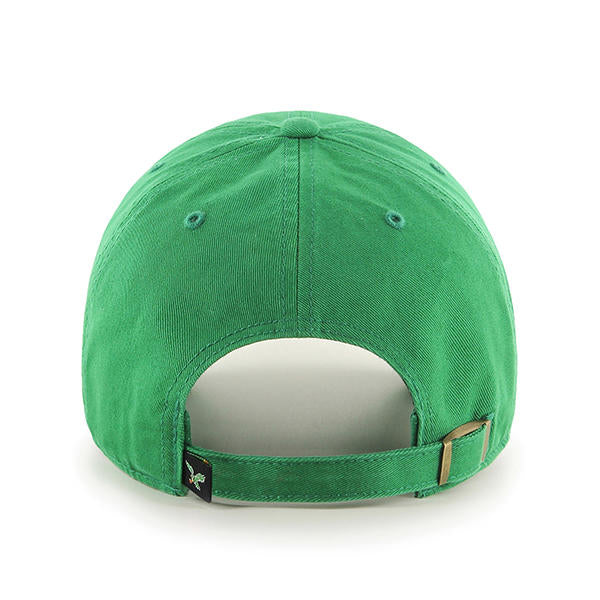 ... inexpensive philadelphia eagles kelly green cleanup hat with vintage  logo 5560c b3b6b ... 7659b764f