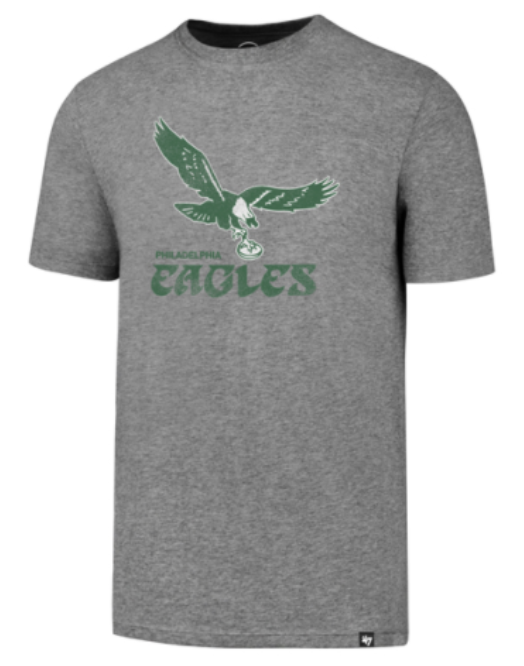 Philadelphia Eagles Slate Gray Knockaround Club tee T-shirt