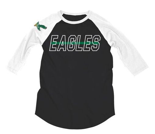 Philadelphia Eagles Vintage Raglan