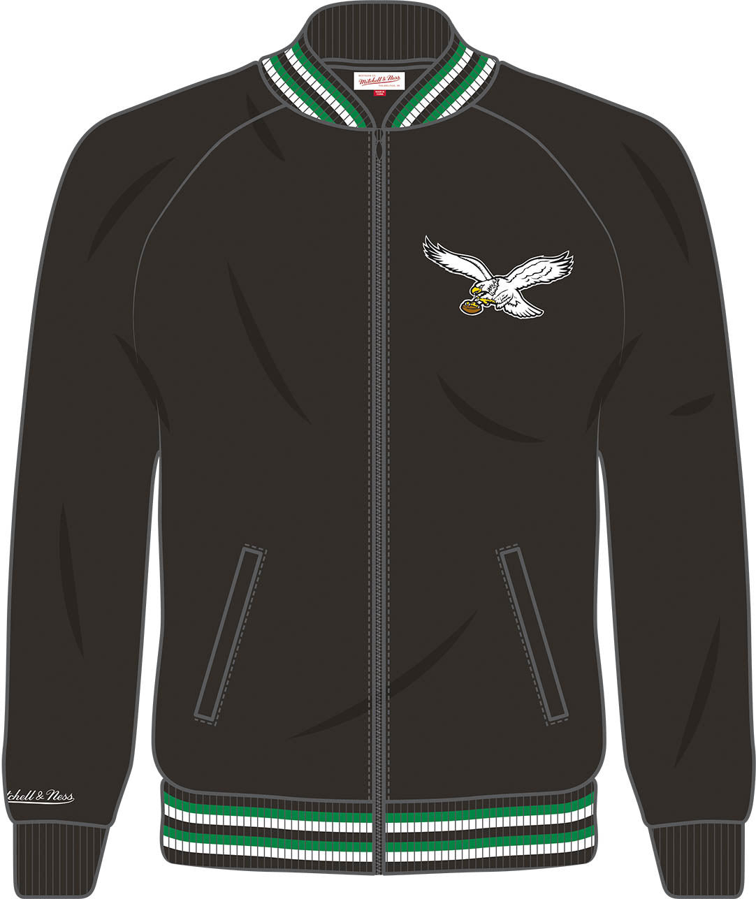 59ebd55f311 Philadelphia Eagles Top Prospect Track Jacket