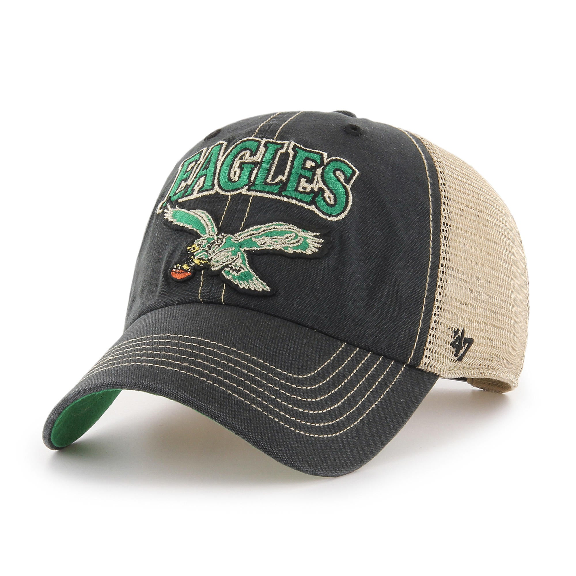 Philadelphia Eagles Tuscaloosa Meshback Clean Up Logo Hat dd10d6253