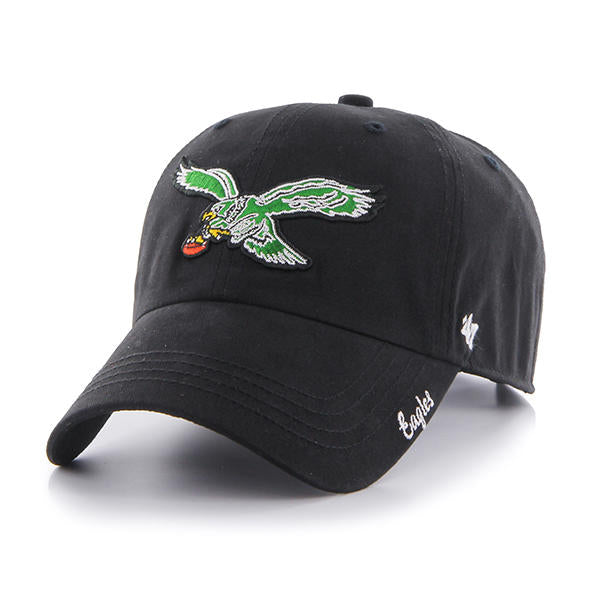 Philadelphia Eagles Miata Women's Black Clean Up Hat