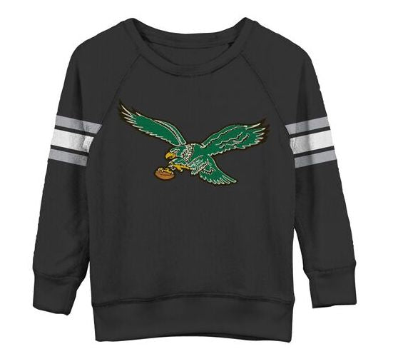 Philadelphia Eagles JF Youth Unisex Crew Sweatshirt