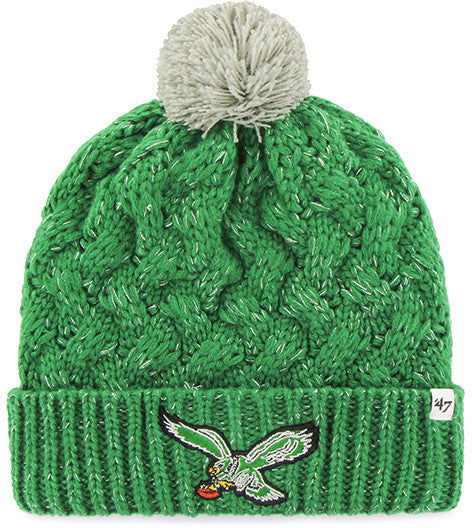 Philadelphia Eagles Fiona Cuff Knit Hat