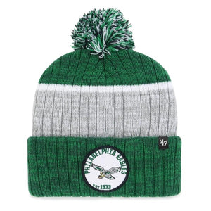 Philadelphia Eagles White Holcomb Knit hat