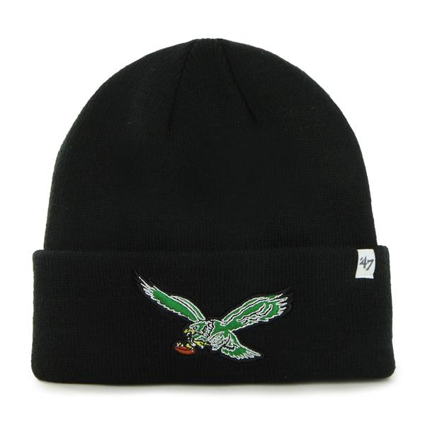 Philadelphia Eagles Vintage Black Beanie