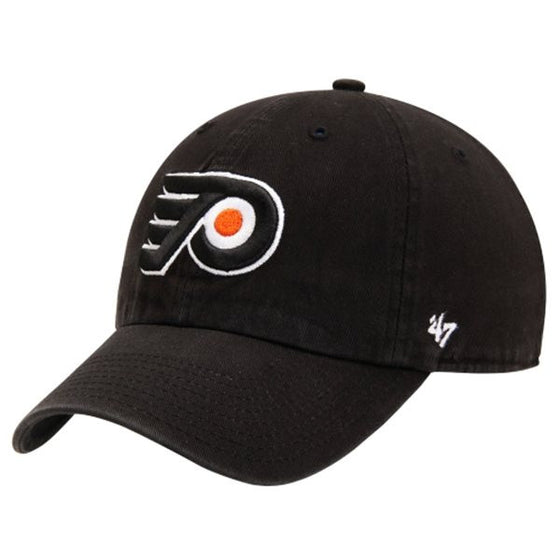 Philadelphia Flyers Black Clean Up hat