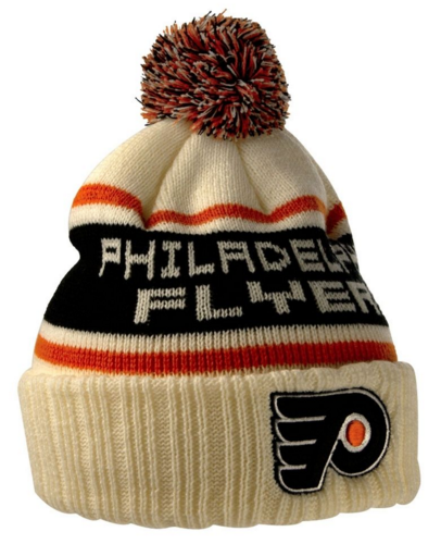 Philadelphia Flyers Pillow Line Knit Pom Hat