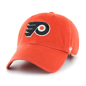 Philadelphia Flyers Orange Clean Up hat