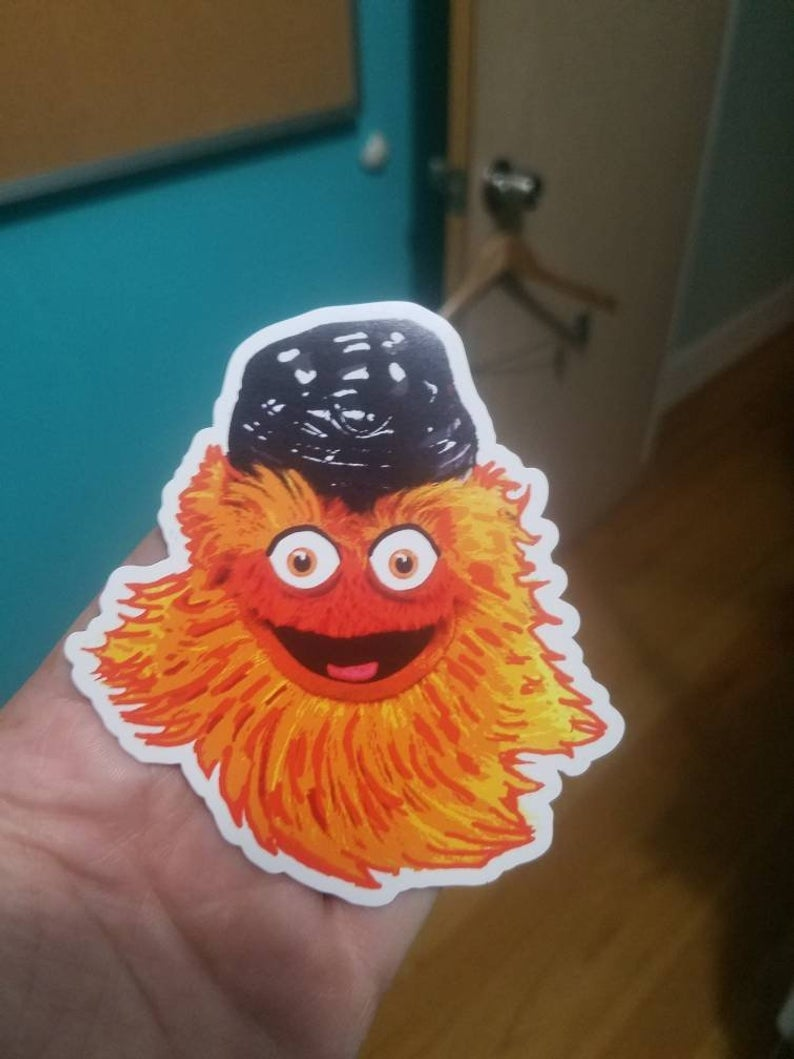 Gritty Face Magnet
