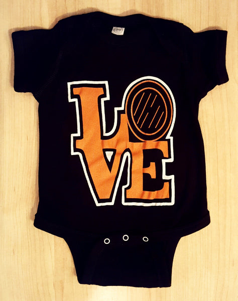 LOVE Flyers Onesie