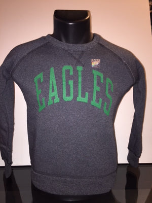 Philadelphia Eagles Black Fleece Pullover Youth Sweatshirt