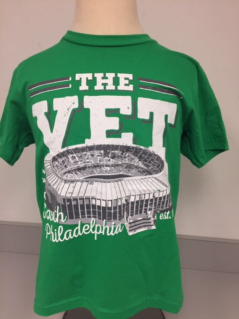 Green Vet Stadium Youth T-Shirt