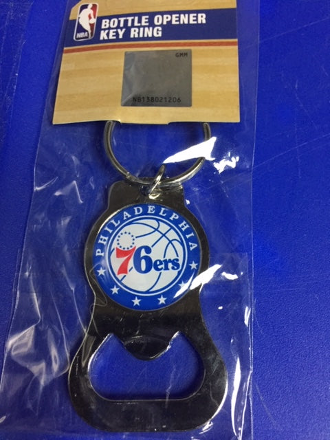 76ers Bottle Opener Keychain