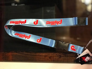 Philadelphia Phillies Throwback Keychain Lanyard