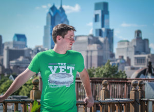 Veterans Stadium T-Shirt - Kelly Green - Men's