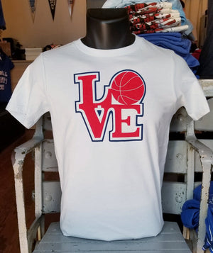 LOVE Basketball Youth T-Shirt