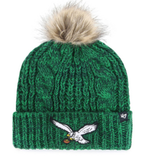Philadelphia Eagles Meeko Green Women's Cuff Knit