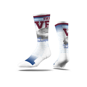 Veterans Stadium Phils Socks