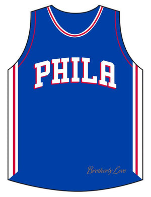 "76ers 3"" Jersey Magnet"