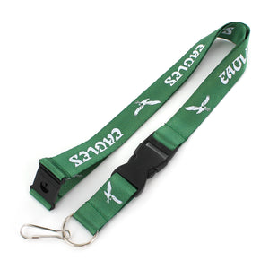 Philadelphia Eagles Throwback Keychain Lanyard