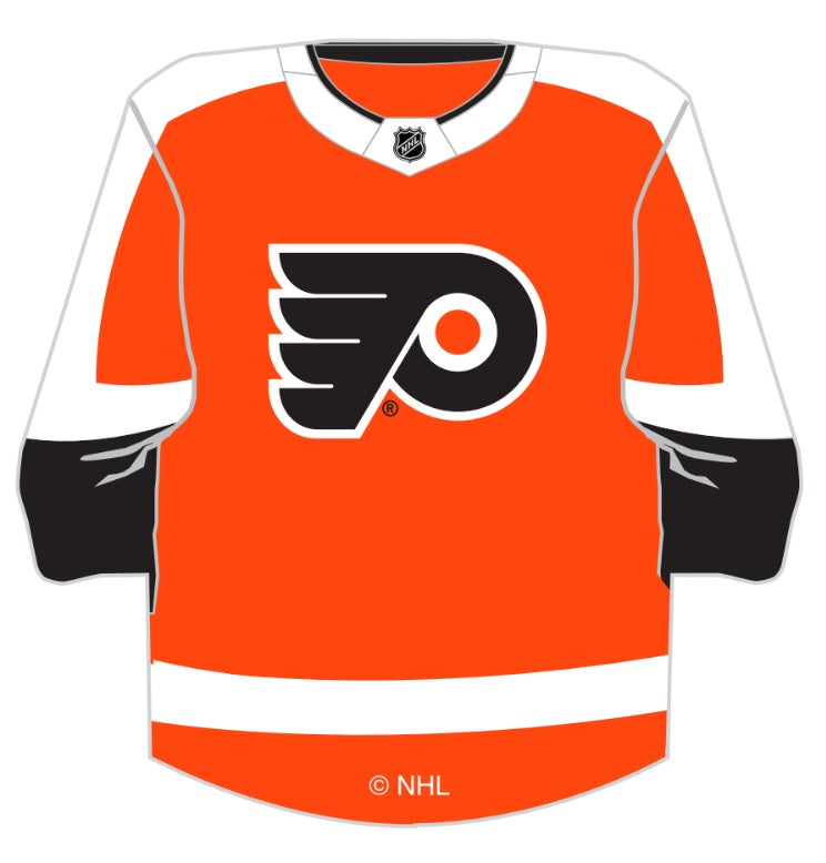 "Flyers NHL Jersey 3"" magnet"