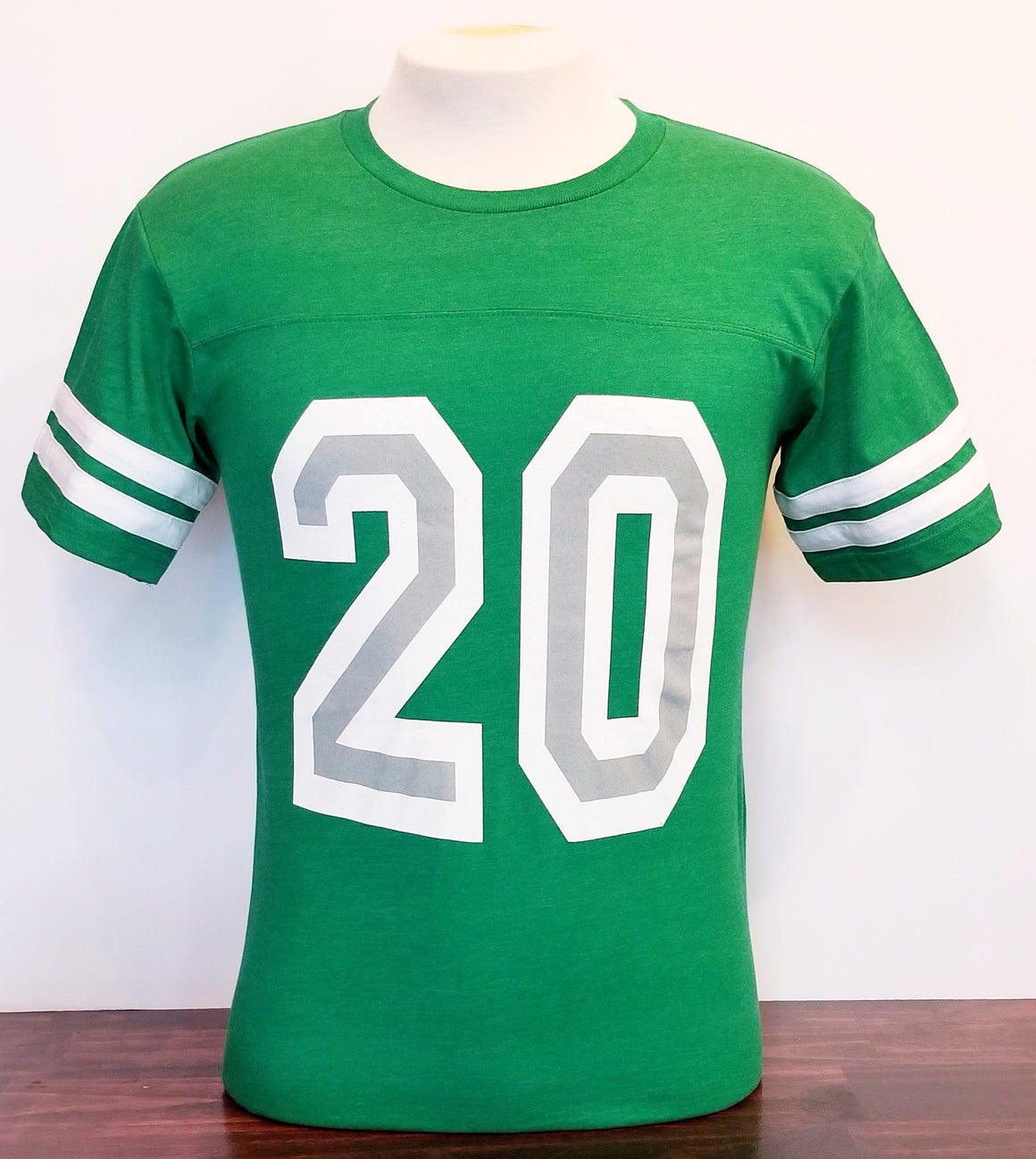 Philadelphia Football Kelly Green Number 20 T-shirt