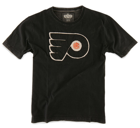 Philadelphia Flyers Black Dead Ringer t-shirt